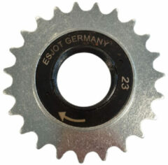 Zwarte Esjot Freewheel 23t 1/2 X 1/8 Inch