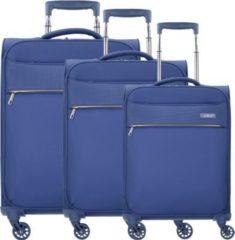 D&n D & n Travel Line 6304 4-Rollen Kofferset 3tlg.
