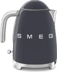 Zwarte Smeg KLF03GREU waterkoker 1,7 l Leigrijs 2400 W