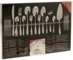 Roestvrijstalen Excellent Houseware Romarino Bestekset - 60-delig - 6 persoons