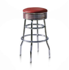 Bel Air Retro Fifties Furniture Bel Air Retro Barkruk BS-29-77 Ruby