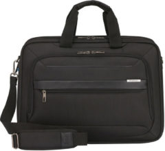 Zwarte Samsonite Laptopschoudertas - Vectura Evo Laptop Bailhandle 17.3 inch Black