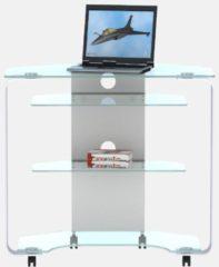 Eck-Laptop-Schreibtisch, Jahnke, »CU MR 200 E«, Breite 80 cm