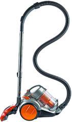 Clean Maxx stofzuiger CLEANmaxx cycloonstofzuiger Pet Star 700W oranje/zilver, 700 W, zonder stofzak
