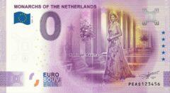 Paarse 0 Euro Biljet 2020 - Vorsten van Nederland - Koningin Máxima