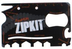 Summit Multi-tool Zipper 8,5 X 5,5 Cm Zwart