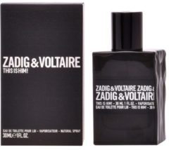 Zadig & Voltaire This Is Him 100 ml - Eau de Toilette - Herenpafum