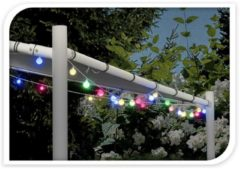 Party Lighting LED Multicolour Feestverlichting Prikkabel, 80 Lampen, 16 Meter, IP44