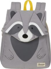 Grijze Sammies by Samsonite Happy Sammies Eco Backpack S raccoon remy Kindertas