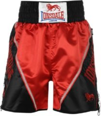 Blauwe Lonsdale Pro Large Logo Braid & Tassle Trunks - Boksbroek - Maat S