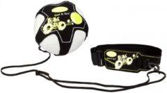 Get & Go Voetbalvaardigheidstrainer - Zwart/Fluorgeel/Wit