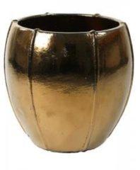 Gouden Ter Steege Moda pot 43x43x43 cm Gold bloempot