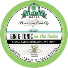 Stirling Soap Co. scheercrème Gin & Tonic on the rocks 165ml