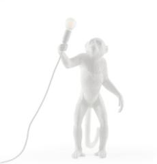 Seletti Monkey vloerlamp (staand) wit