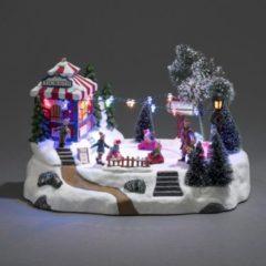 Konstsmide Spieluhr mit LED Beleuchtung, »Autoscooter«