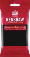 Renshaw Rolfondant Pro - Pikzwart - 250g