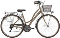 Cicli Cinzia 28 ZOLL CITY FAHRRAD 21 GANG CINZIA GIARA Damen gold