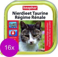 Beaphar Nierdieet Kat 100 g - Kattenvoer - 16 x Lam