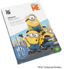 Zilveren WMF Kids 1286076040 - Bestekset 4-delig Minions