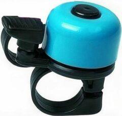 M-wave Fietsbel Mini 34 Mm Blauw/zwart