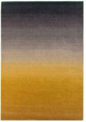 Eazy Living Easy Living - Ombre-Runner-mustard Vloerkleed - 160x230 cm - Rechthoekig - Laagpolig Tapijt - Modern, Retro - Geel, Taupe