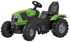 Groene Rolly Toys traptractor RollyFarmtrac Deutz Fahr 5120 groen/zwart