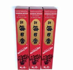 Bruine Morning Star - Sandalwood Incense - wierook stokjes - 3-pack
