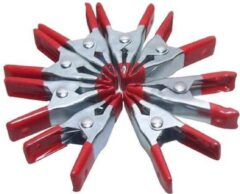 Rode 24Wonen Zeilklemmen-zeilklem- lijmklem- 6 stuks