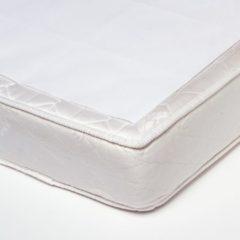 Titanium Baby Babsana Molton Bedzeil 75x100 cm - Wit