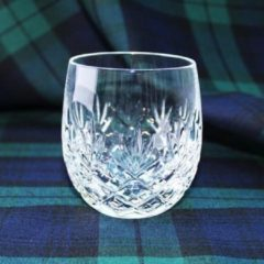 Transparante Royal Scot Crystal EDINBURGH SINGLE BARREL TUMBLER - 2 whiskyglazen