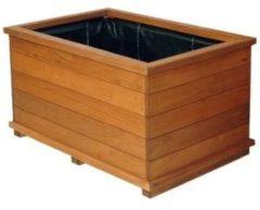Plantenwinkel.nl Rechthoekige houten plantenbak FSC 90x40x48 cm