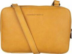 Gele Cowboysbag Raw Bag Mica Schoudertas Amber