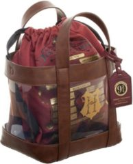 Bordeauxrode Difuzed Harry Potter Clear Tote With Cinch Bag