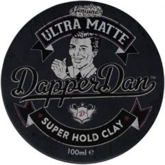 Dapper Dan - Ultra Matte - Super Hold Clay - 100 ml