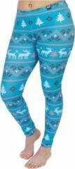 ZUMPREMA Foute kerst legging - Mint blauw