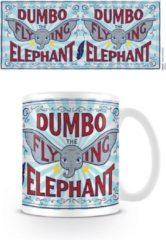 Witte Disney Dinsey Dumbo Movie The Flying Elephant Mok