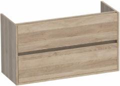 Sanituba NEXXT SMALL onderkast 100cm legno calore