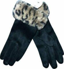 Dames handschoenen - COQUETTE - van BellaBelga - zwart