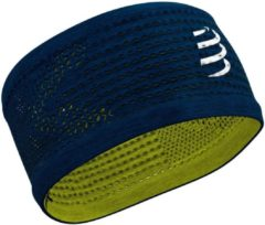 Blauwe Compressport Headband On/Off - Hoofdbanden