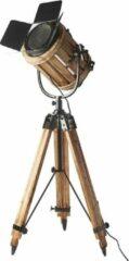 Bruine Riviera Maison - Rodeo Drive Floor Lamp - ENKEL STANDAARD