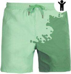 Seasons Mint - Groen | Kleurveranderende zwembroek