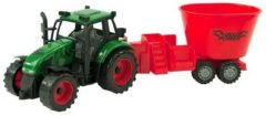 ARO toys Tractor frictie met mengwagen 38cm 2ass
