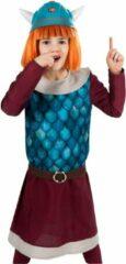 Metamorph GmbH - Wickie de Viking kostuum voor meisjes - 122-128 cm (7-8 jaar) - Kinderkostuums