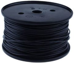 QSP Products PVC stroomkabel Zwart 1 x 6,0 mm2 (p/m1).