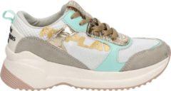 Replay Smart meisjes dad sneaker - Wit multi - Maat 38