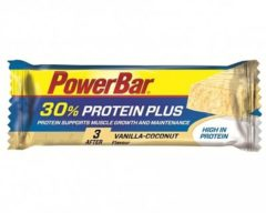 POWERBAR Eiwitreep Protein Plus 30% vanille kokosnoot 55 g