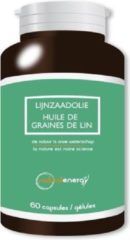 Natural Energy Vetzuren Lijnzaadolie Capsules 60capsules