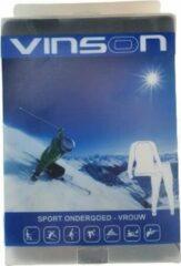 Merkloos / Sans marque Sport thermo set ondergoed VINSON - Broek en Top - Vrouwen - Zwart - Maat XL