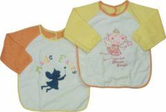 Bianco Blu Babies Slabber Geel Oranje Maten: Een maat