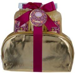 4tlg.Pflegeset violett Salsa gold-violett